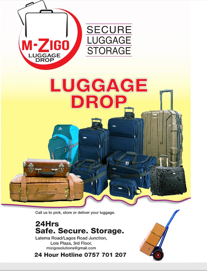 Luggage drop